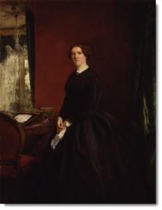 Portrait of Mary Elizabeth Braddon